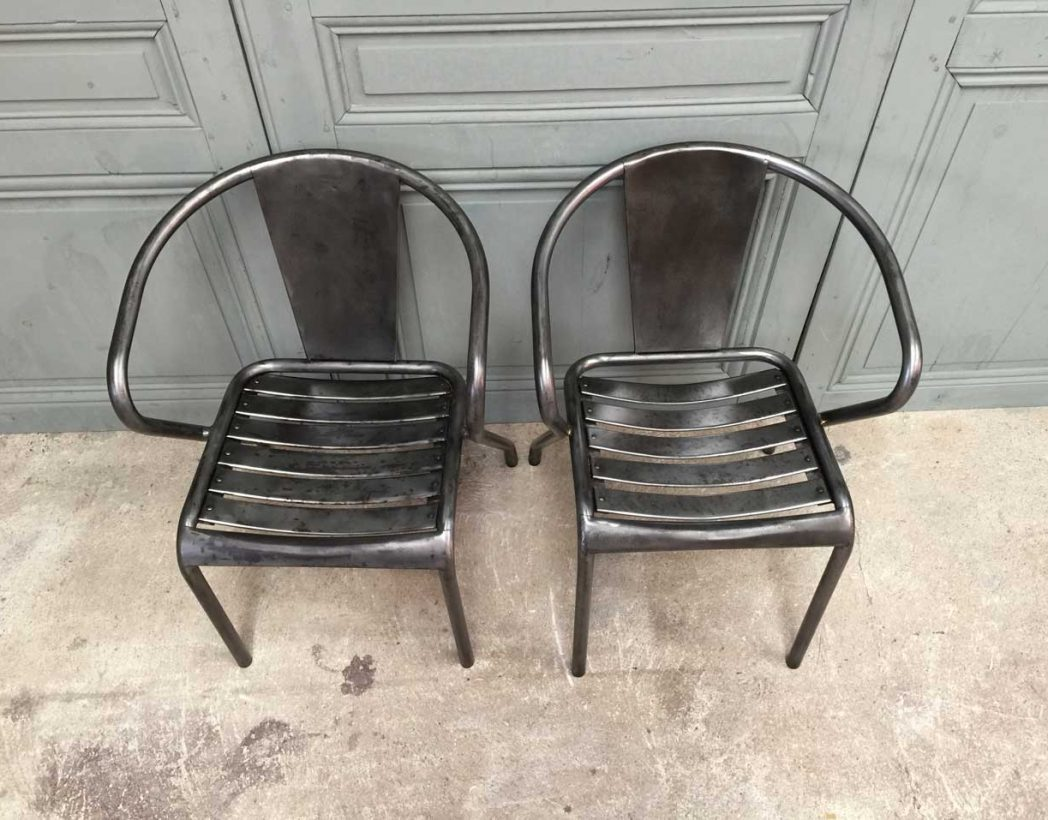 chaise tolix ft5 original. Black Bedroom Furniture Sets. Home Design Ideas