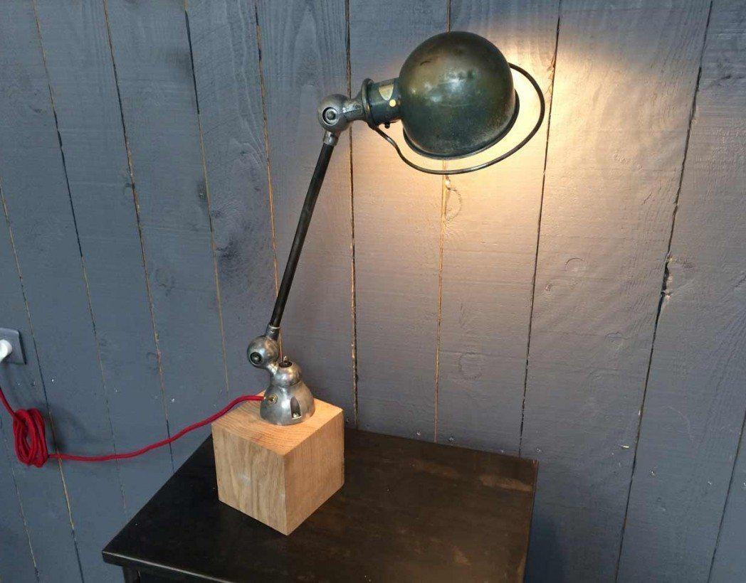 lampe jielde 1 bras originale. Black Bedroom Furniture Sets. Home Design Ideas