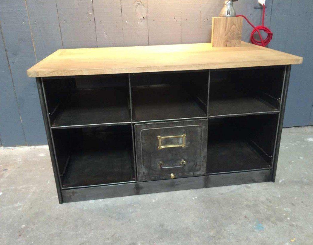 meuble tv casiers us. Black Bedroom Furniture Sets. Home Design Ideas