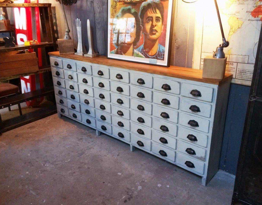 meuble de m tier 48 tiroirs. Black Bedroom Furniture Sets. Home Design Ideas