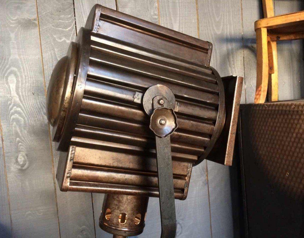 ancien projecteur de th atre. Black Bedroom Furniture Sets. Home Design Ideas
