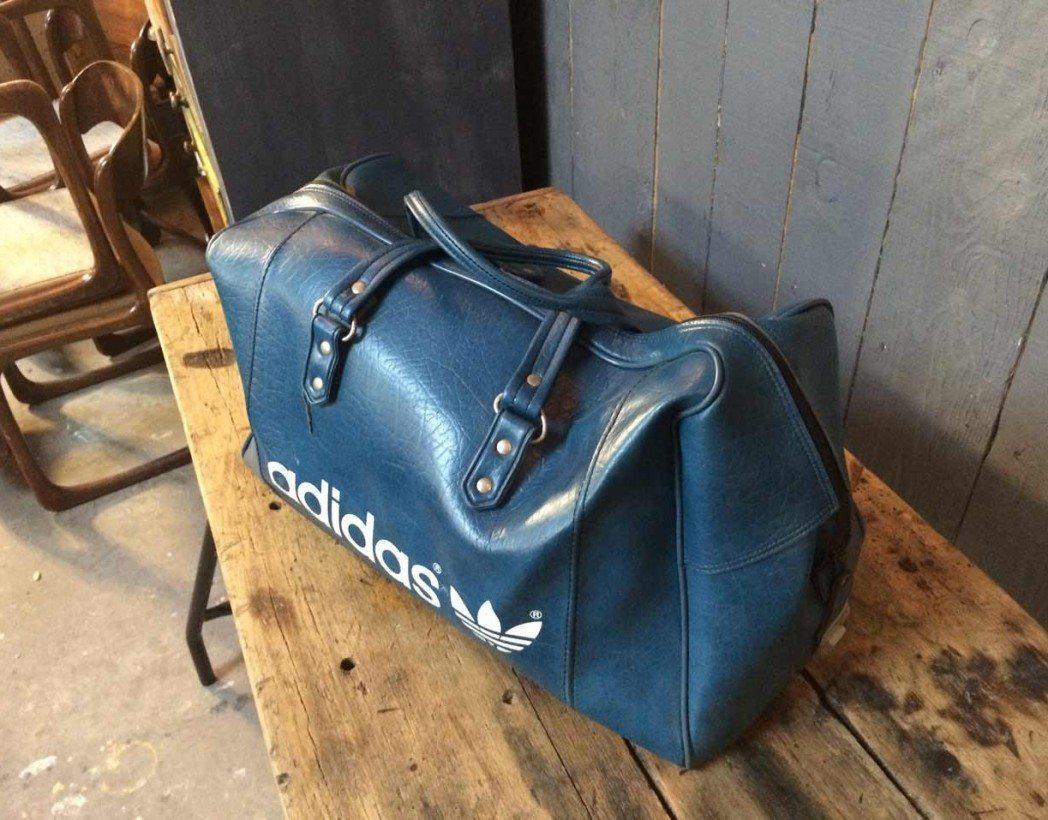 4e2f550db5 Authentique sac de sport adidas vintage