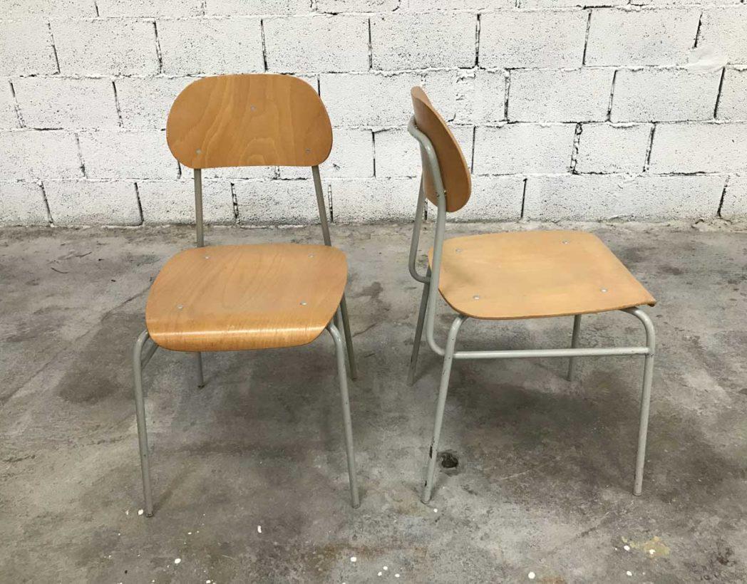 chaise-ecole-tcheque-bois-metal-ligne-epuree-vintage-lot-5francs-3