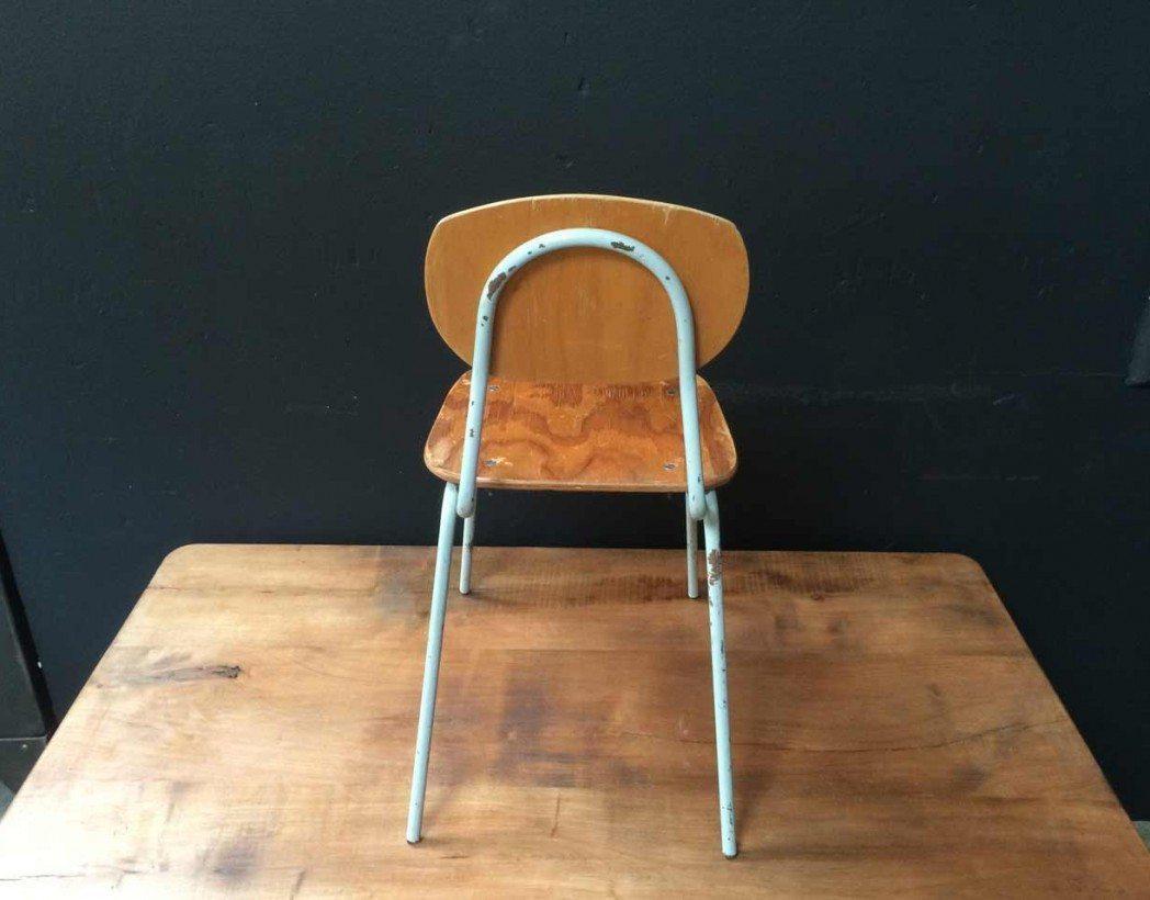 Chaise Ecole Enfant Vintage 5francs 14