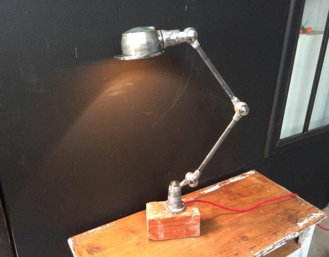 jielde lac 2 bras lampe industrielle de la marque jield. Black Bedroom Furniture Sets. Home Design Ideas