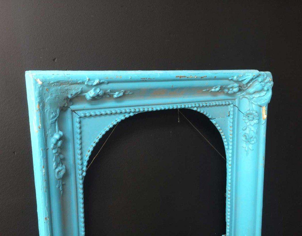 cadre-ancien-moulure-bleu-bollywood-5francs-3