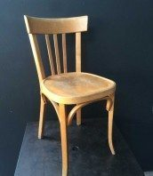 lot chaises bistrot