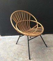 Fauteuils chaises les indispensables pour une d co - Chaise rotin vintage ...