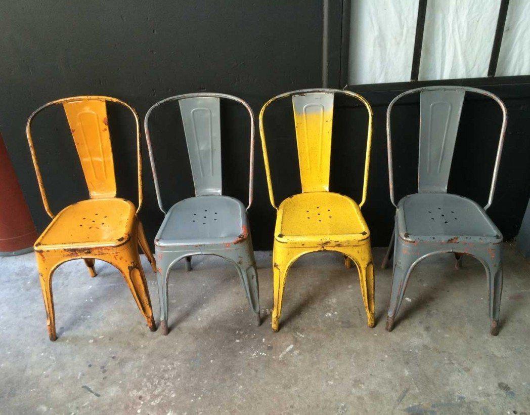 chaises tolix pas cher. Black Bedroom Furniture Sets. Home Design Ideas