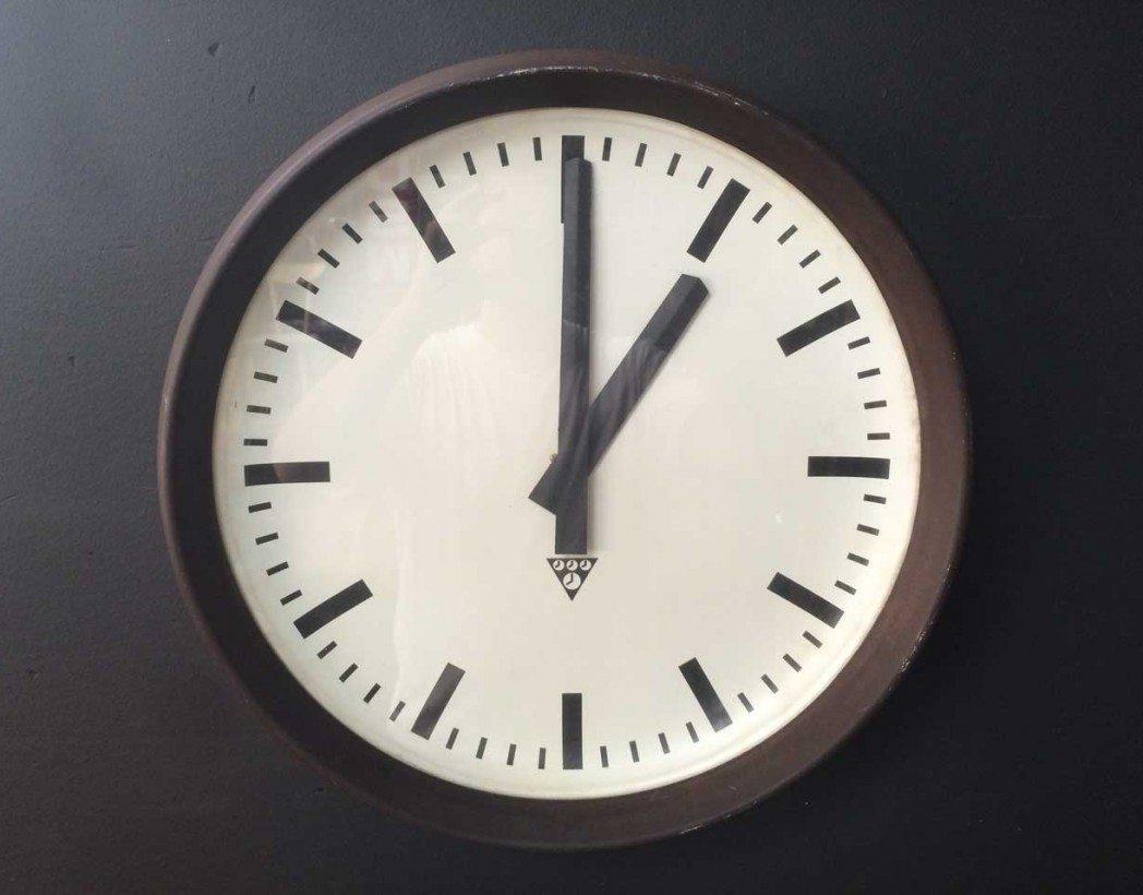 Horloge gare en bak lite for Horloge atelier