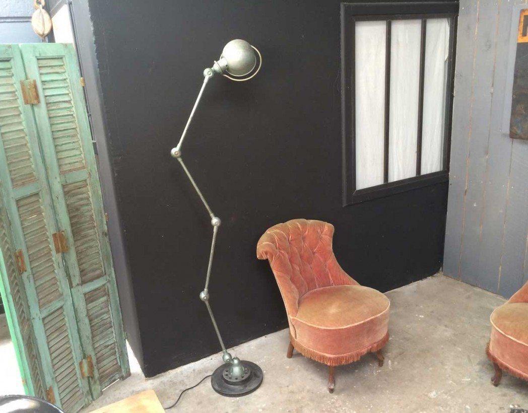 Lampe Jielde 4 Bras Originale Socle Metal