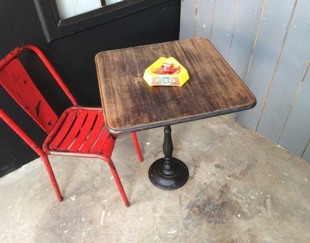Ancienne table bistrot - Table de bistrot occasion ...