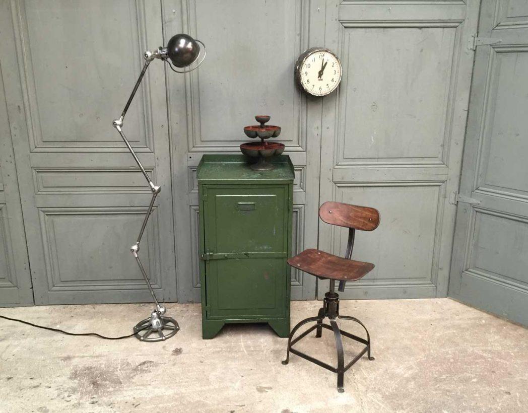 ancienne-console-atelier-verte-industrielle-5francs-8