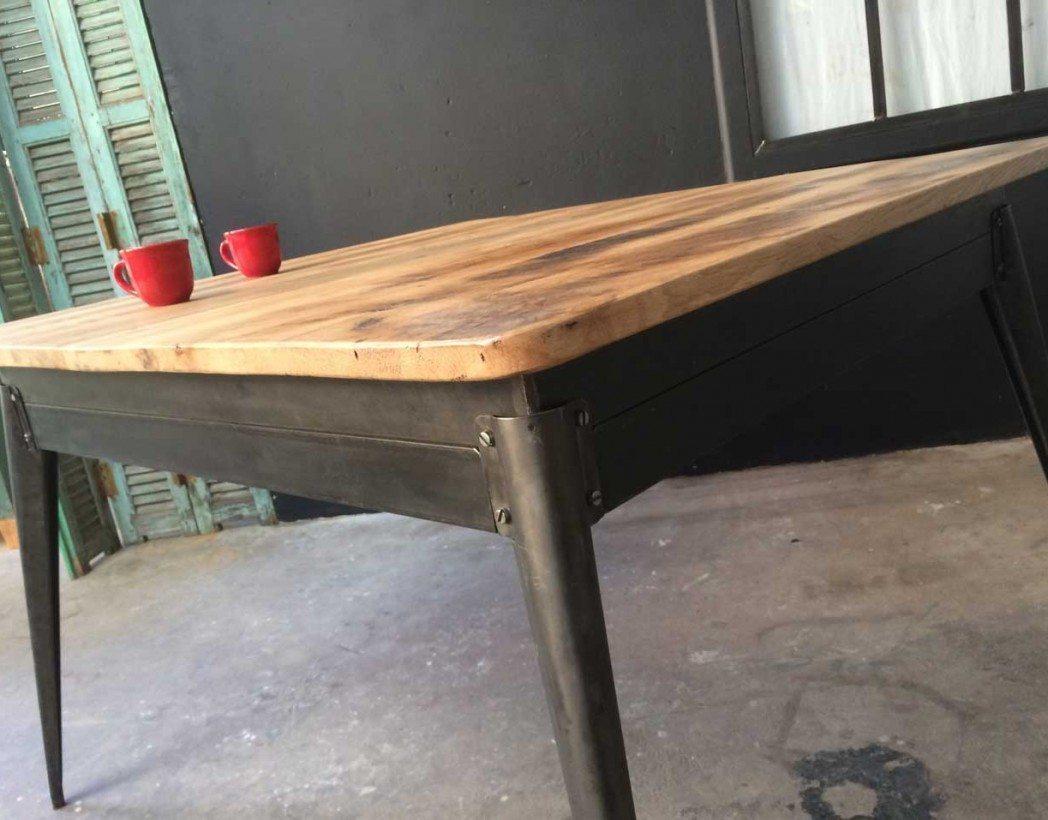 table-industrielle-tolix-plateau-bois-5francs-5