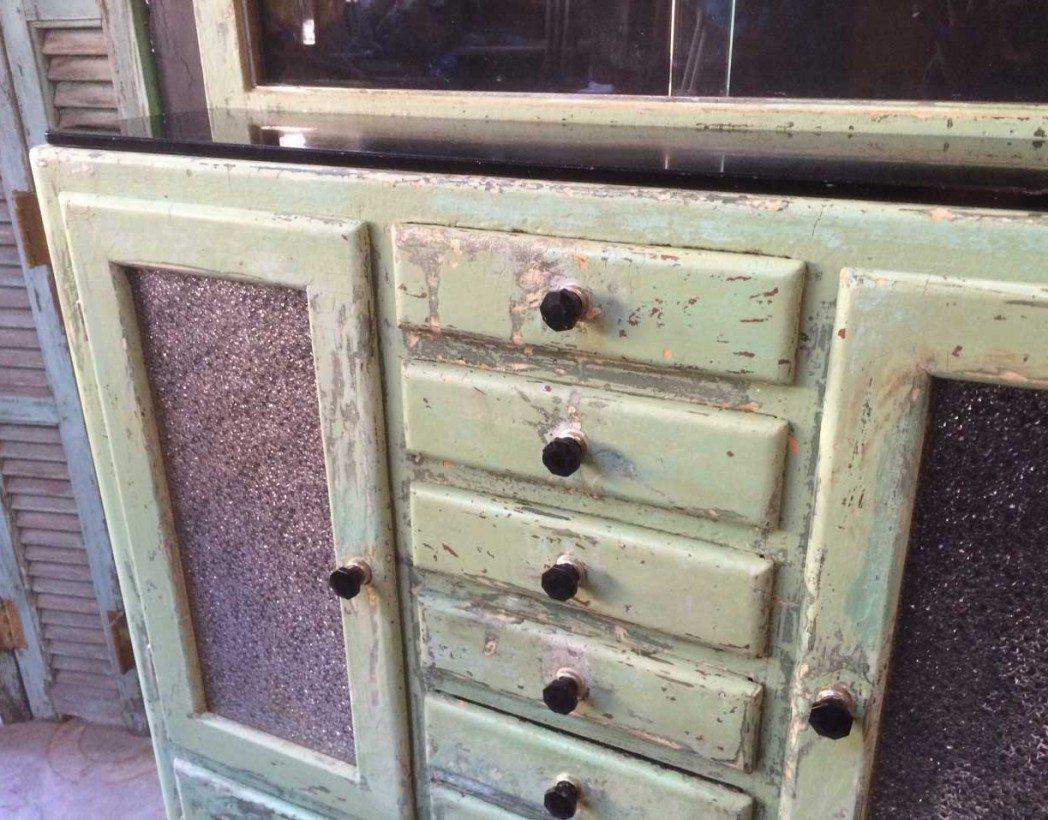 cabinet de dentiste 1950 en bois 5 francs. Black Bedroom Furniture Sets. Home Design Ideas