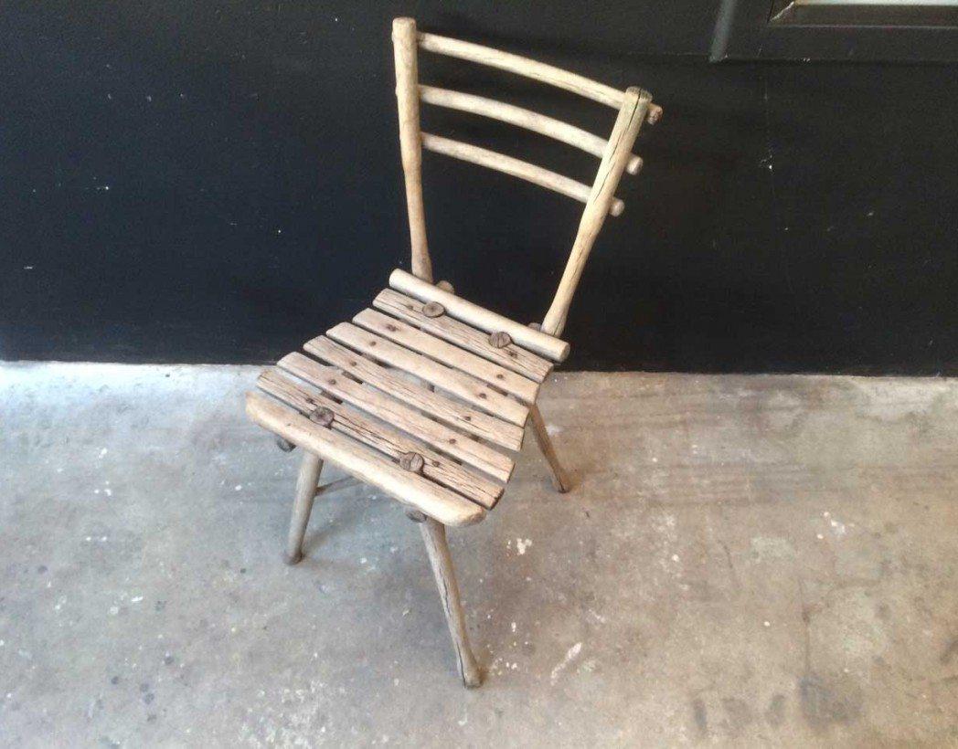 Chaise de jardin thonet for Chaise bois flotte