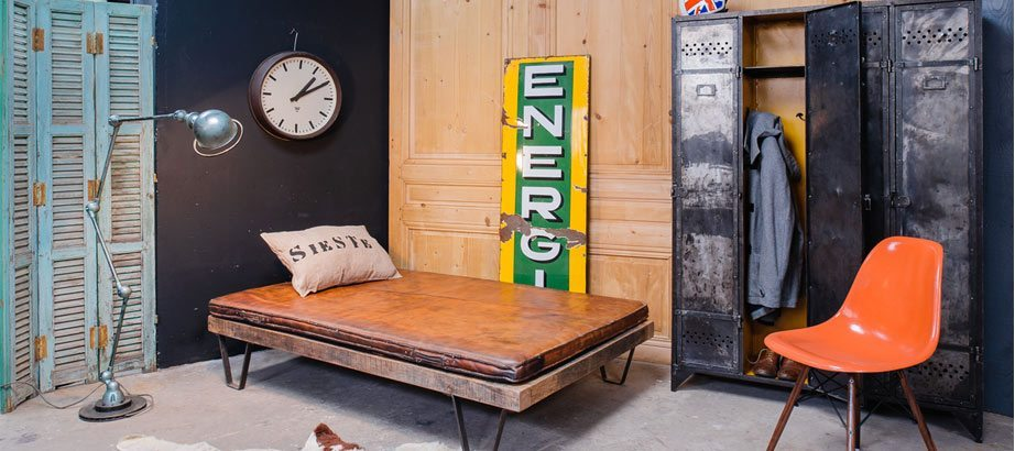 5 francs d co industrielle mobilier industriel et vintage. Black Bedroom Furniture Sets. Home Design Ideas