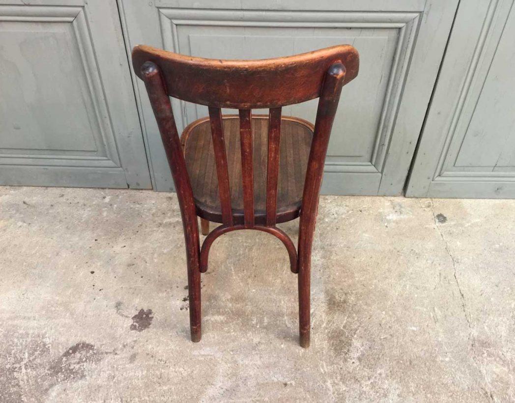Ensemble de 6 chaises bistrot baumann ann e 30 for Chaise bistrot baumann prix