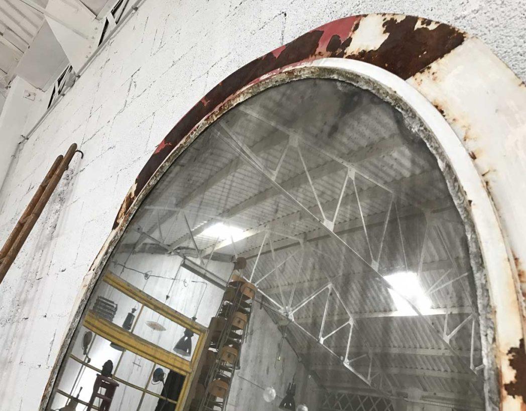ancien-grand-miroir-convexe-sorciere-metal-patine-5francs-6-1