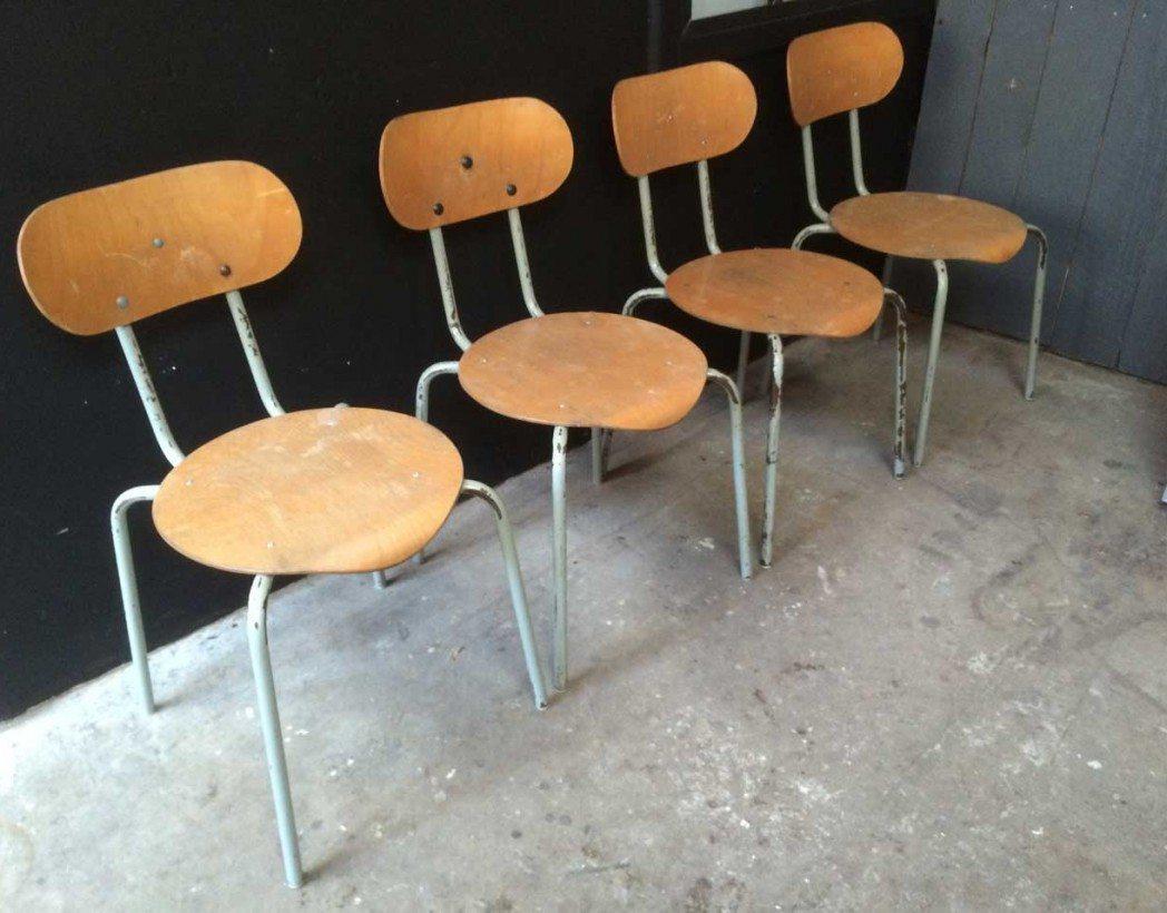 chaise d 39 cole style jacobsen. Black Bedroom Furniture Sets. Home Design Ideas