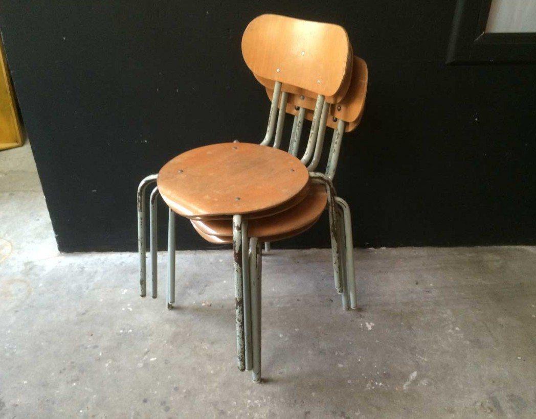Chaise d 39 cole style jacobsen for Chaise fourmi jacobsen