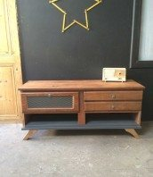 creation-upcycling-5francs-console-bois-metal-1