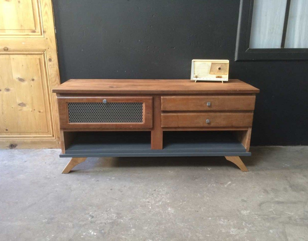 creation-upcycling-5francs-console-bois-metal-2