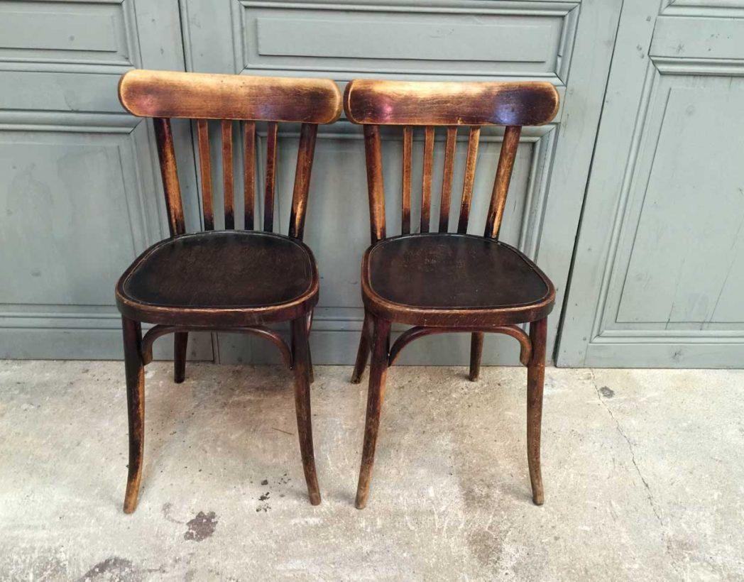 ensemble 29 chaises bistrot baumann. Black Bedroom Furniture Sets. Home Design Ideas