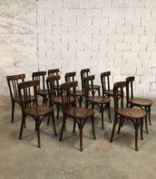 lot 68 chaise baumann bistrot annee30 dossier haut 5francs 1 172x198 - Rare ensemble 68 chaises bistrot Baumann dossier haut