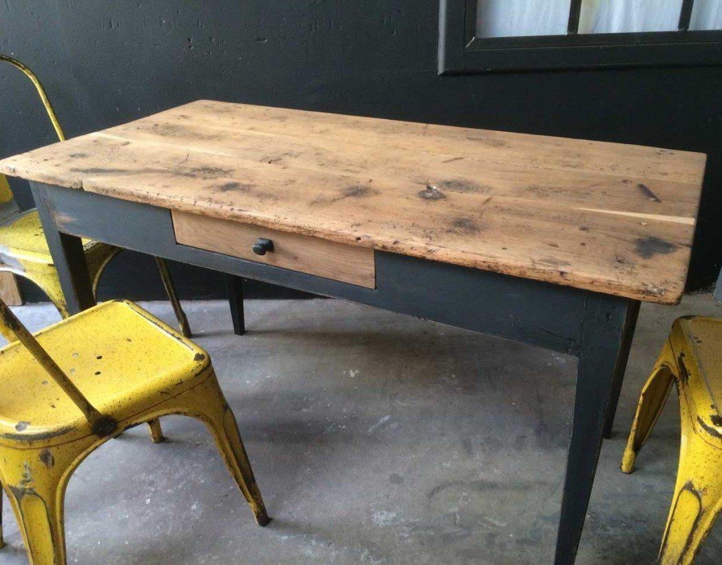 table bistrot ancienne. Black Bedroom Furniture Sets. Home Design Ideas