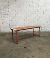 table metal militaire armee industrielle loft 5francs 1 1 172x198 - Table militaire mess de l'armee patine