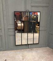 ancienne-verriere-miroir-rivetee-industrielle-5francs-1