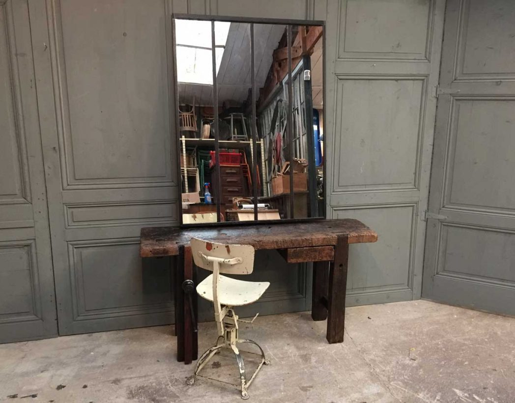 Miroir Verriere miroir style fen tre d 39 atelier verri re