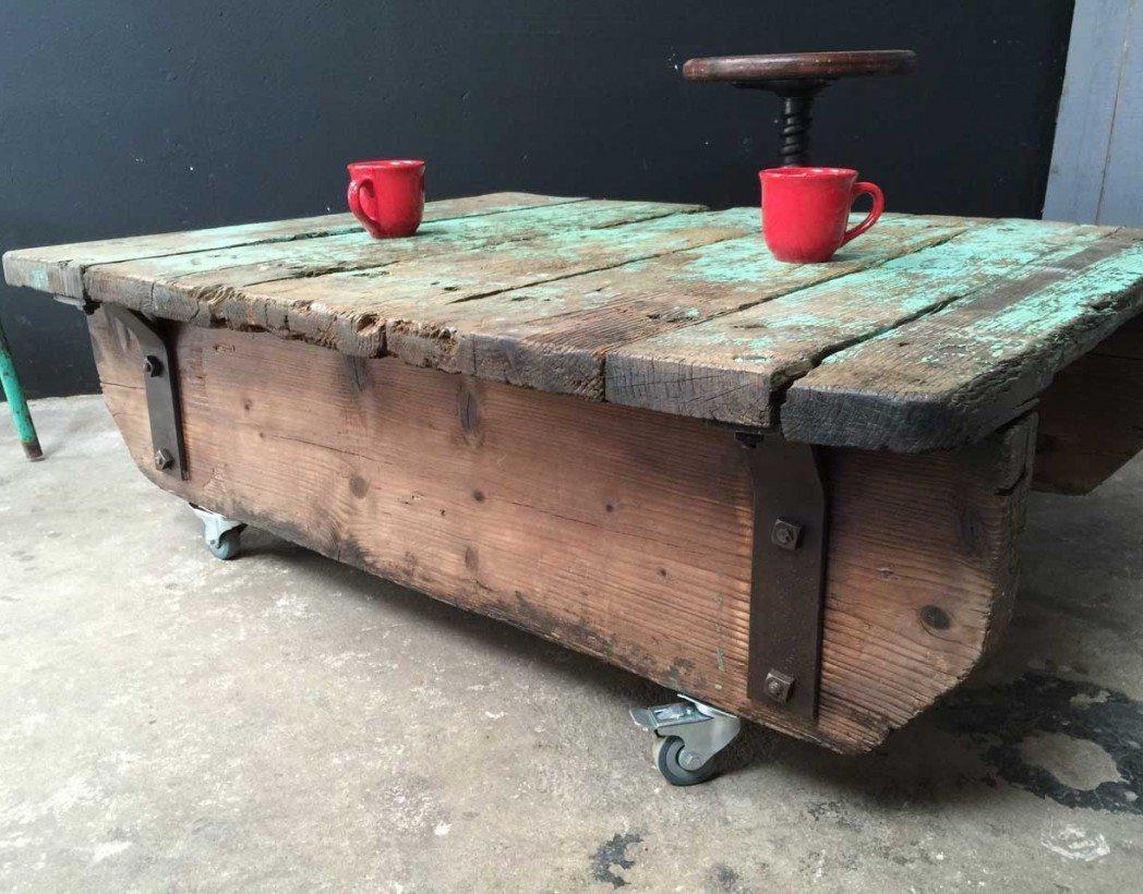 ancienne palette table basse. Black Bedroom Furniture Sets. Home Design Ideas