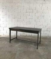 ancien bureau metal decape style prouve tole design 5francs 1 172x198 - Bureau d'atelier métal piètement compas esprit Jean Prouvé