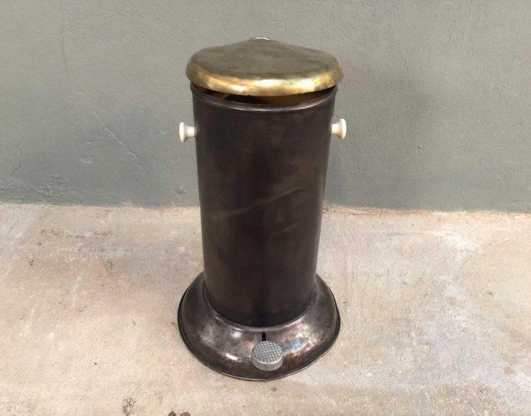 Ancienne poubelle style vipp - Poubelle style industriel ...