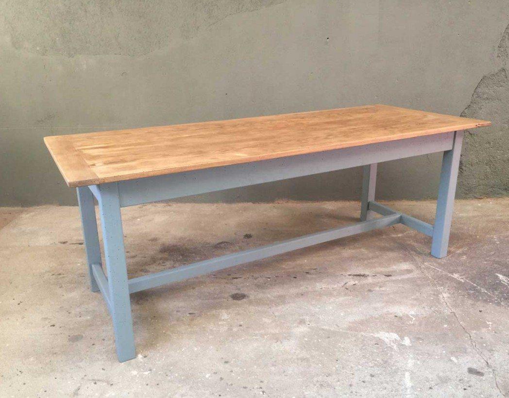 Ancienne table de ferme for Table bois ancienne rectangulaire