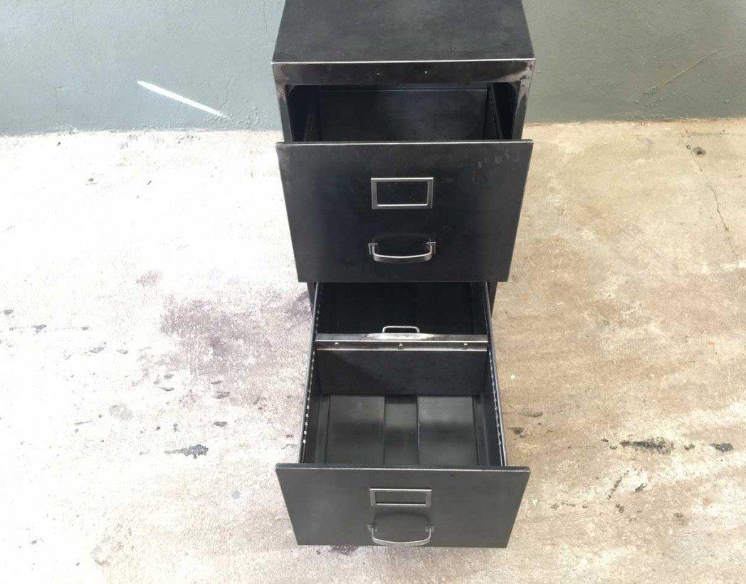 Caisson deux tiroirs industriel - Casier rangement industriel ...