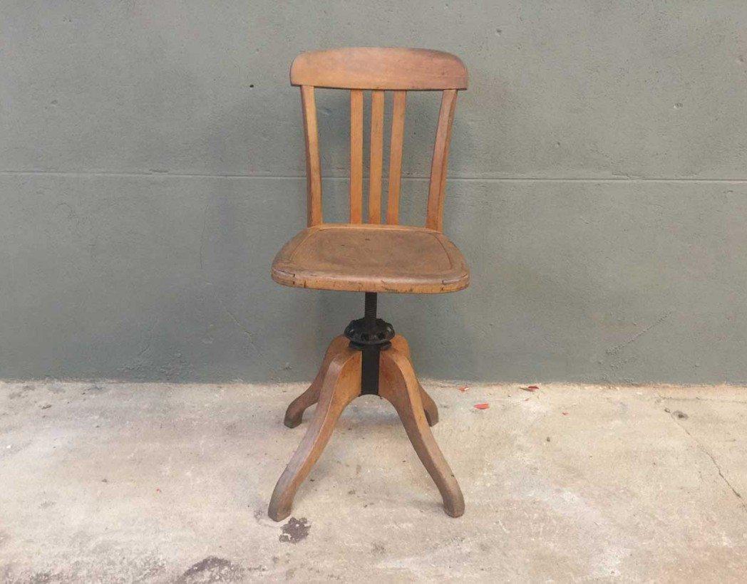 chaise bureau stella pivotante. Black Bedroom Furniture Sets. Home Design Ideas