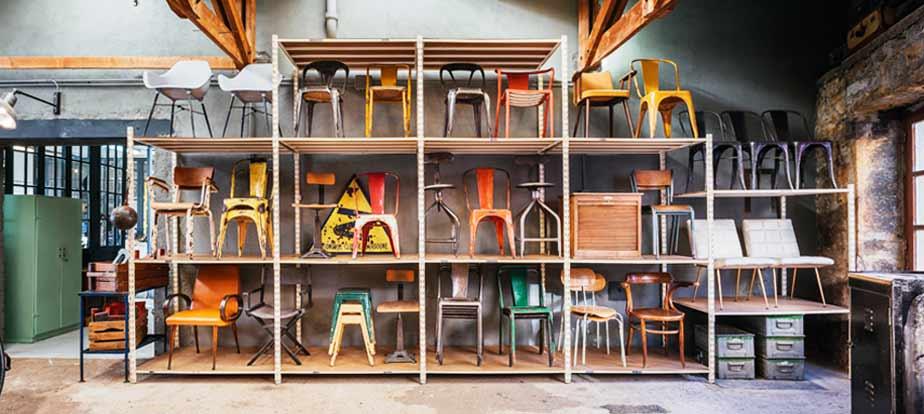 5 francs d co industrielle mobilier industriel et vintage. Black Bedroom Furniture Sets. Home Design Ideas