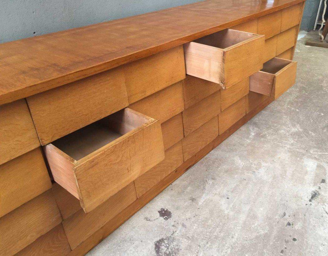 enfilade ann e 50 buffet vintage des ann es 50 mobilier industriel. Black Bedroom Furniture Sets. Home Design Ideas