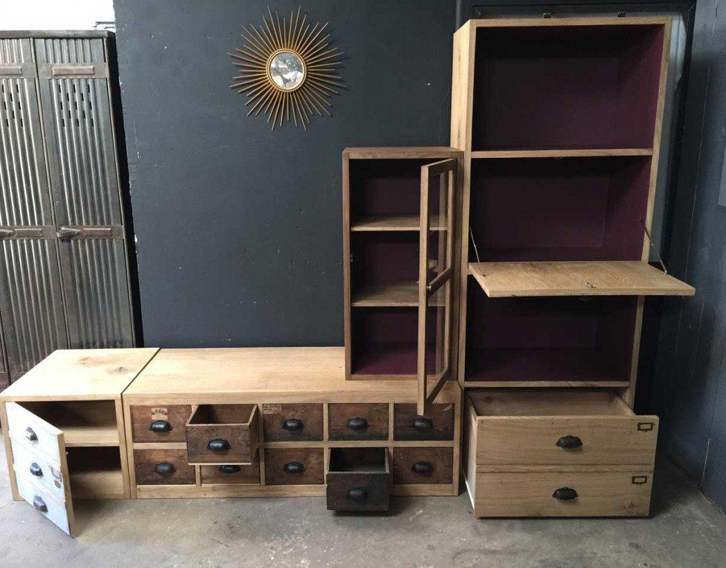 cr ation ensemble tv par 5francs meuble tv style industriel. Black Bedroom Furniture Sets. Home Design Ideas