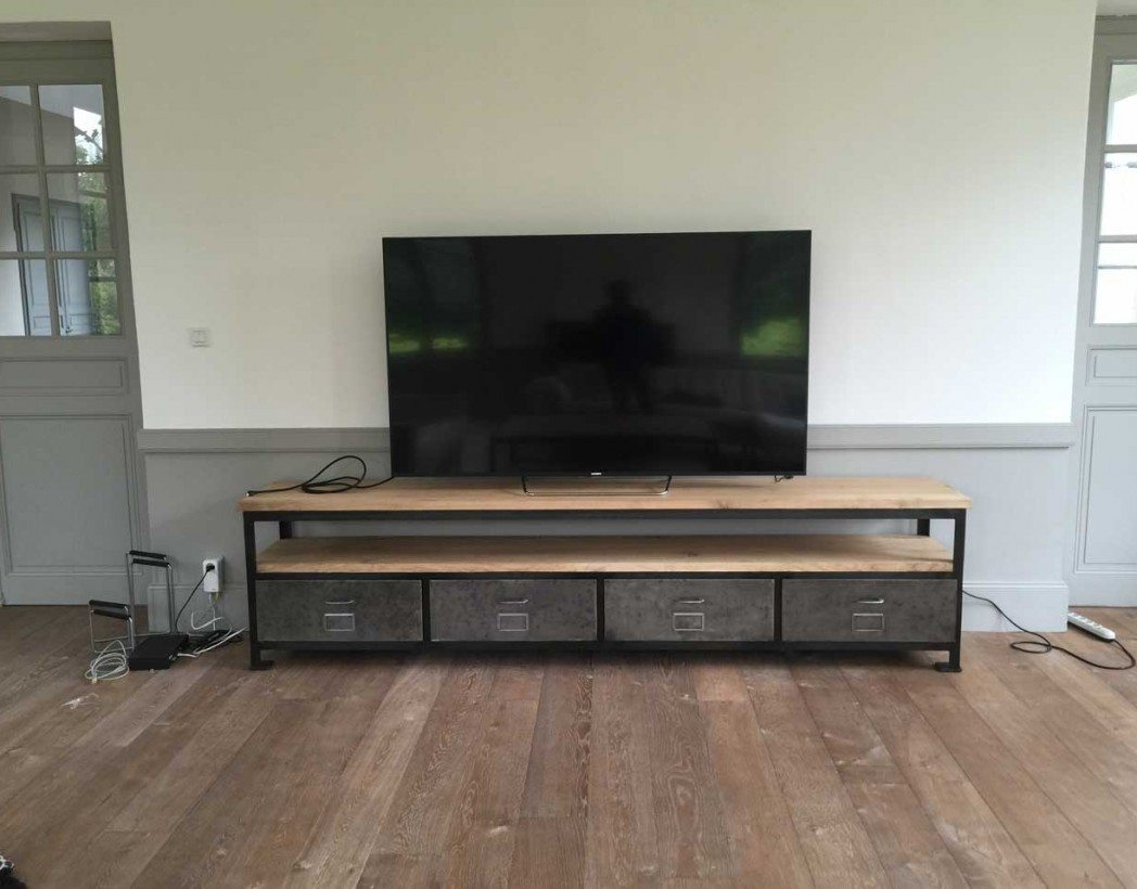 Meuble Tv 70 Cm Largeur Maison Design