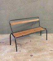 ancien-banc-ecole-bois-metal-vintage-5francs-1