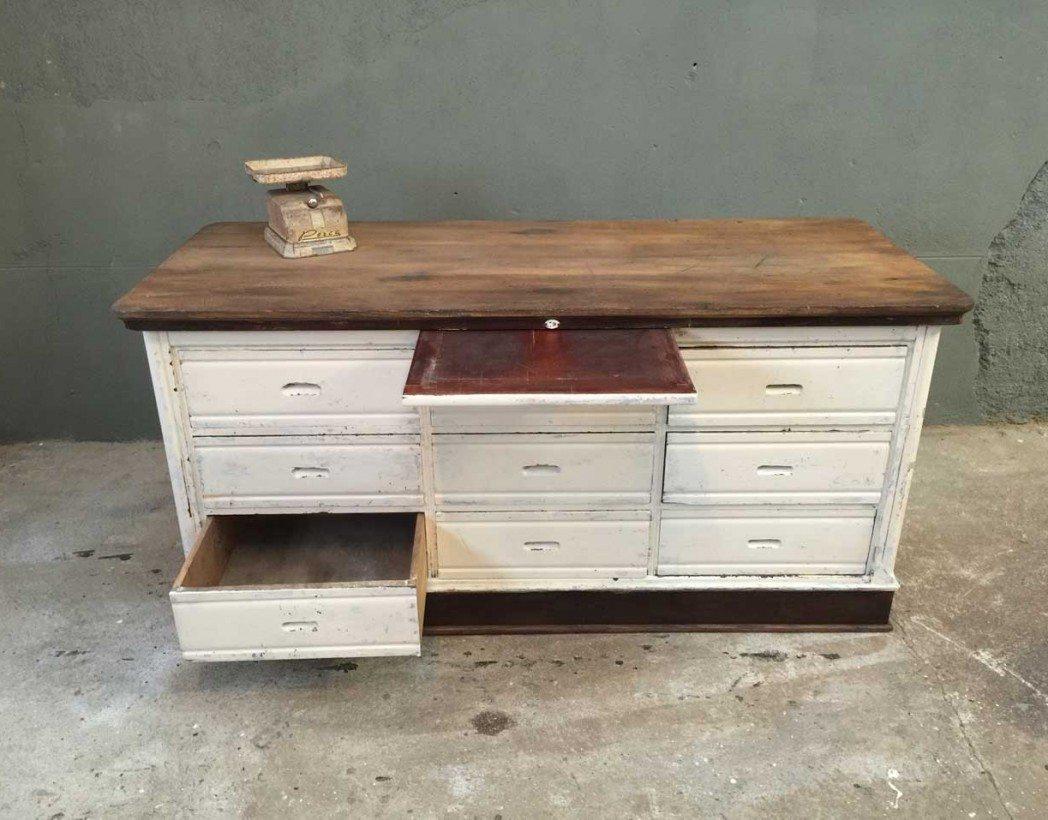 banque-mercerie-ilot-central-ancien-vintage-tiroirs-meuble-de-metier-5francs-3
