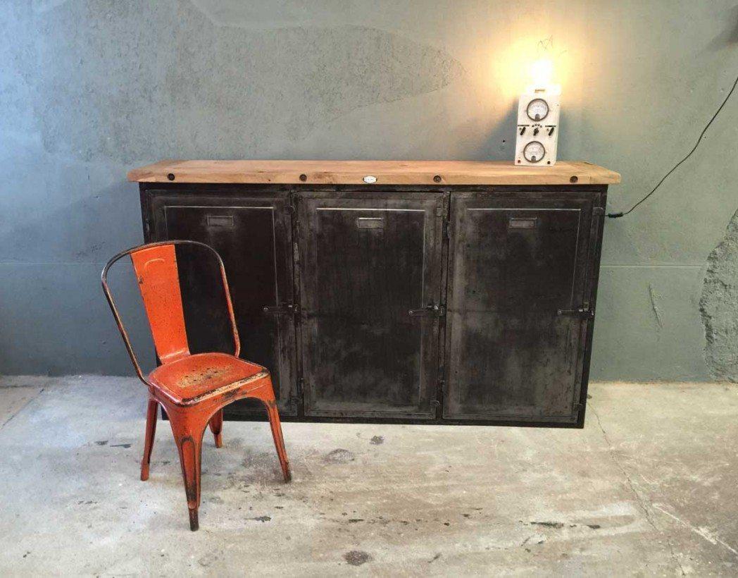buffet-industriel-bois-et-metal-atelier-vintage-5francs-9