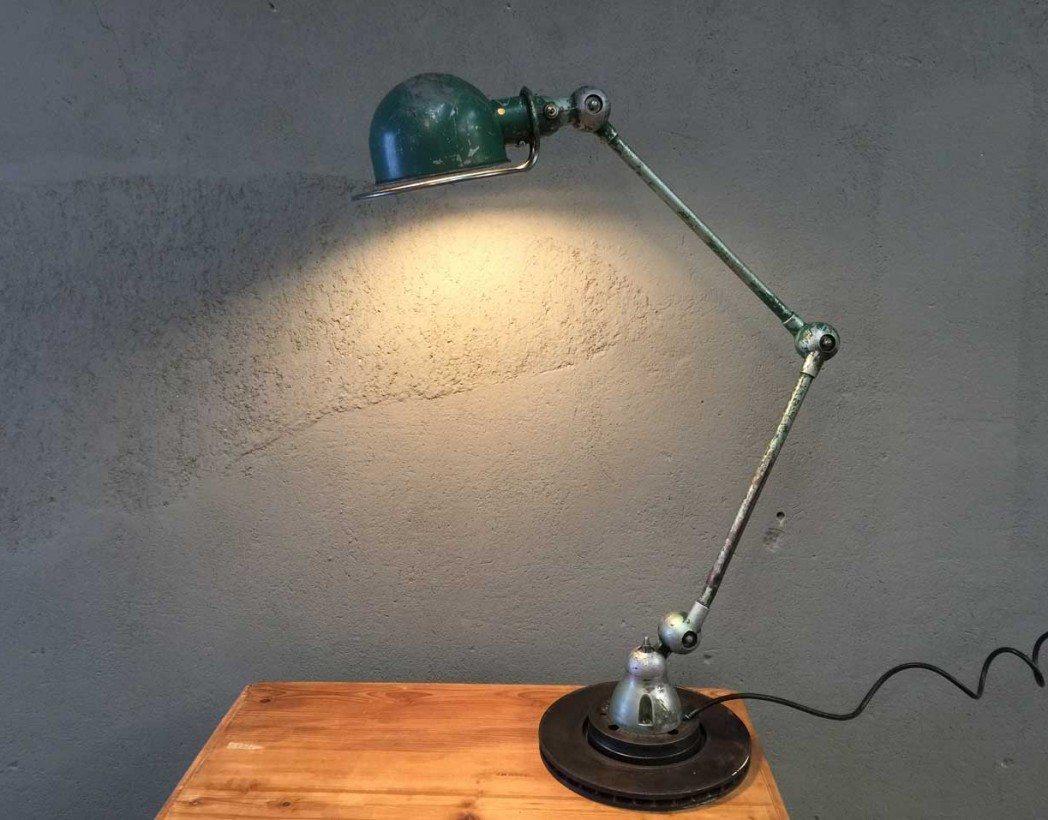 lampe jield vintage verte. Black Bedroom Furniture Sets. Home Design Ideas