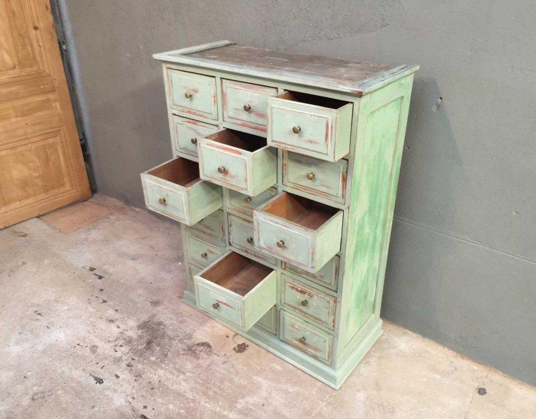 ancien grainetier 24 tiroirs. Black Bedroom Furniture Sets. Home Design Ideas