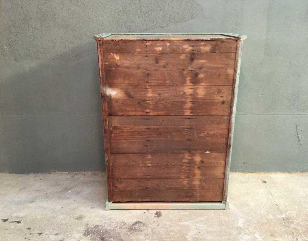Petit meuble de m tier 4 tiroirs for Ancien meuble a tiroir