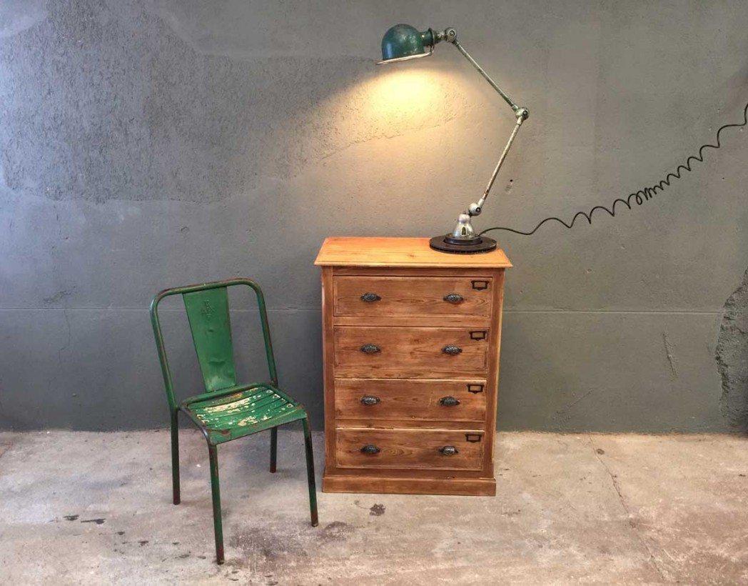 Petit meuble de m tier 4 tiroirs - Prix meubles anciens ...